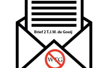 Brief 2 TJW de Goeij