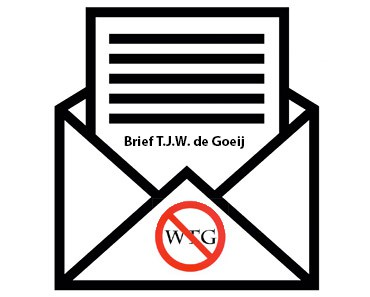 Brief TJW de Goeij