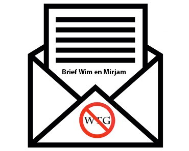 Brief Wim en Mirjam