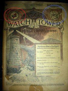 Oorsprong Jehovah's Getuigen in vrijmetselarij