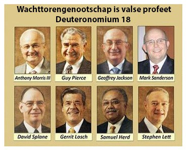 Wachttorengenootschap valse profeet?
