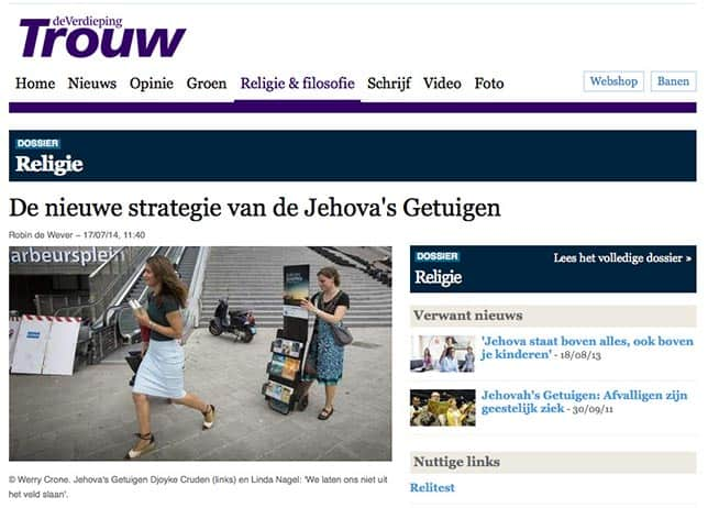 jehova s getuigen dating Jehovah's witnesses dating websites allow those of the jehovah's witness faith  to find other jehovah's witnesses to connect with.