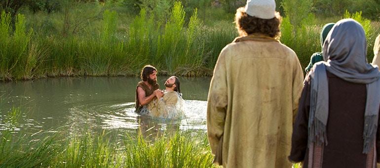 De doop bij Jehova Getuigen