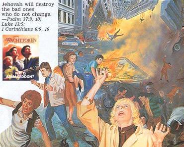 Jehova Getuigen en Armageddon