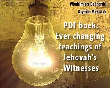 Nieuw licht voor Jehova Getuigen
