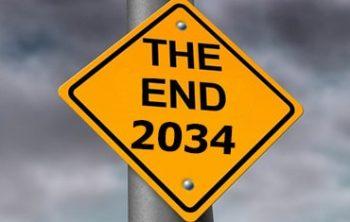 Vergaat de wereld in 2034?