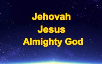 Jehovah en Jezus