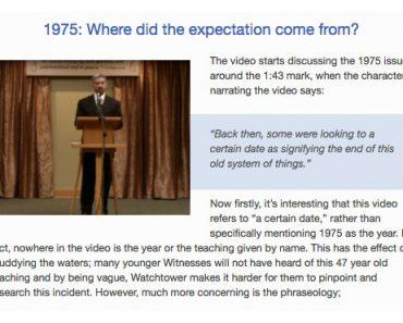 Jehovah Getuigen 1975