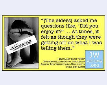 Seksueel misbruik van kinderen Jehovah's Getuigen