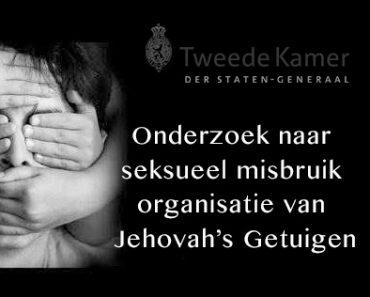 Tweede Kamer onderzoek Jehovah's Getuigen
