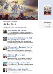 Wachttoren van 1 oktober 2019