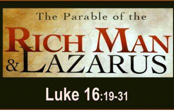 rijke man en Lazarus